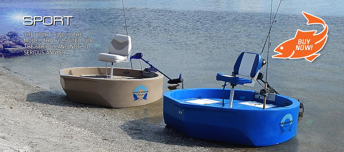 Round boat one man boat round skiff round watercraft for One man fishing boat