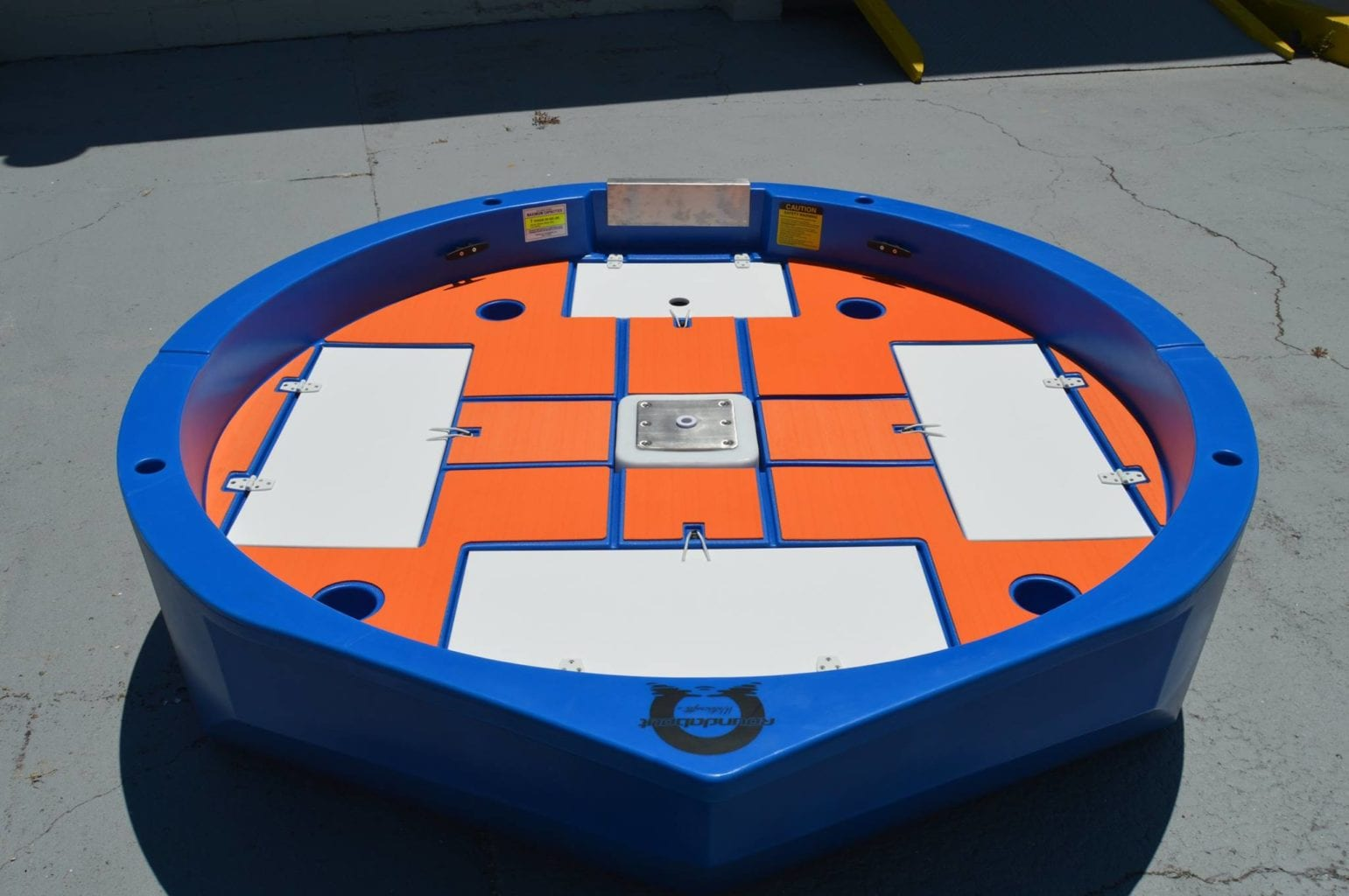 roundabout marine mat kit front view