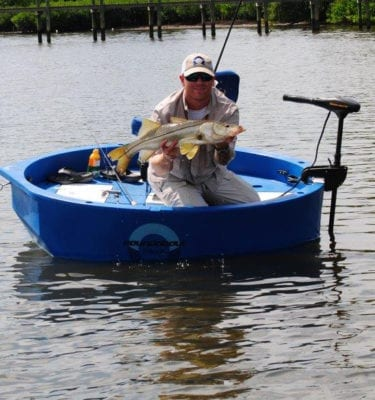Round Boat | Roundabout Round Skiff Ultra Shallow Draft 1 or 2 Man Boat