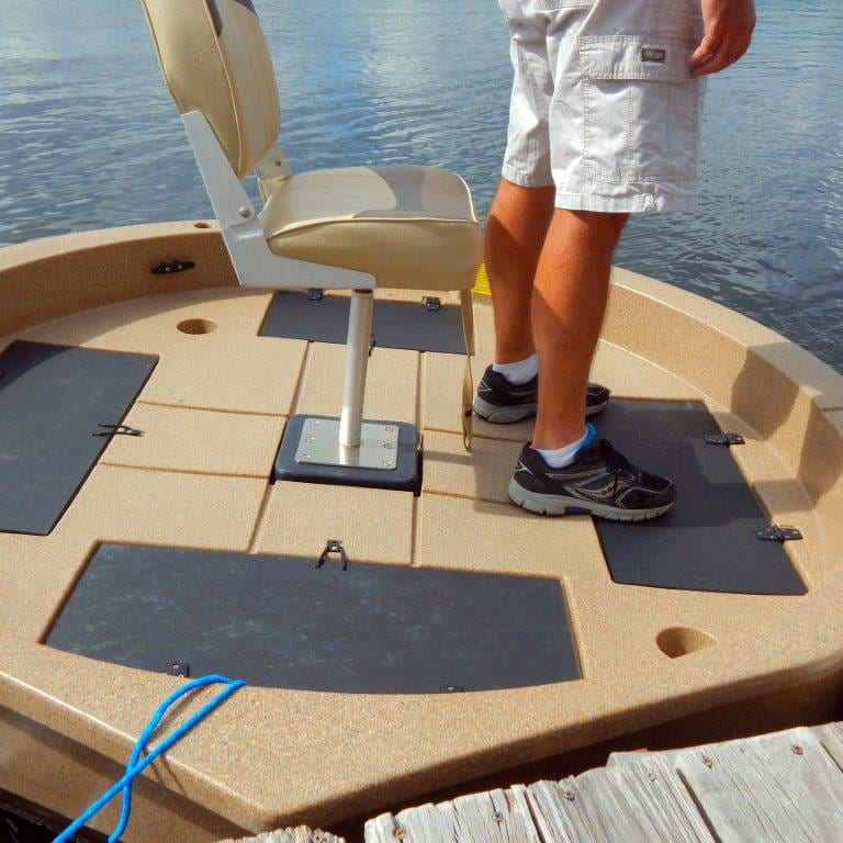 roundabout watercrafts deck foot room