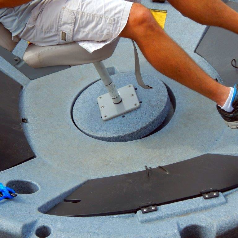 ultraskiff 360 seat base moving under pressure